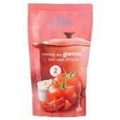 Gwoon romige tomatensoep voorkant