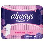 Always dailies singles to go inlegkruisjes normaal voorkant