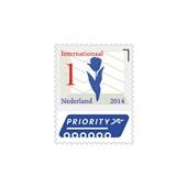 PostNL postzegel Nederlandse iconen 1, 5 stuks achterkant