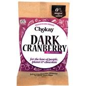 Chokay chocolade cranberry chocolade voorkant