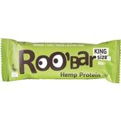 Roo'bar snackreep hennep proteïne en chiazaad voorkant