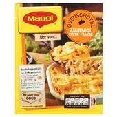 Maggi maaltijdmix   zuurkoolschotel creme fraiche voorkant