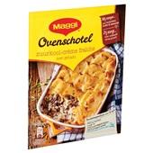 Maggi maaltijdmix   zuurkoolschotel creme fraiche achterkant