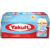Yakult zuiveldrink light voorkant