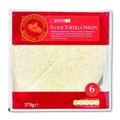 Spar Wraps Flour Tortilla voorkant