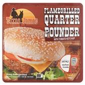 Texas James quarter pounder voorkant