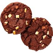 American cookie triple chocolate achterkant