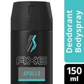Axe deodorant apollo achterkant