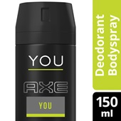 Axe deodorant you achterkant