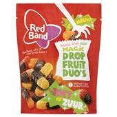 Red Band Suikerwerk Magic Dropfruit Duo Zoet-Zuur voorkant