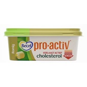Becel Pro Active Margarine Romig Cholesterol voorkant