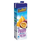 Coolbest Vruchtensap Passionfruit Heaven achterkant