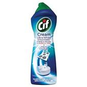 Cif Cream Schuurmiddel Ultra White Bleek voorkant