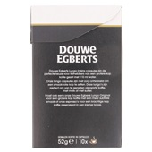 Douwe Egberts Koffiecapsules Lungo Intense achterkant