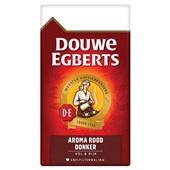 Douwe Egberts snelfilterkoffie Douwe Egberts Aroma Rood Donker filterkoffie, 500 gram voorkant