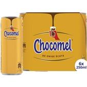 Chocomel Chocolademelk Vol Blik 6-pack voorkant