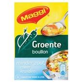 Maggi Bouillon Blok Groente Minder Zout voorkant