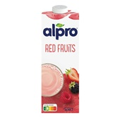 Alpro Soya Drink Rode Vrucht voorkant