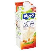 Alpro Soya Drink Ongezoet achterkant