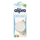 Alpro Soya Drink Light Naturel voorkant