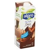 Alpro Soya Drink Choco achterkant