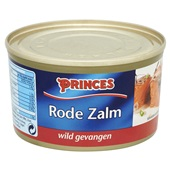 Princes Rode Zalm achterkant