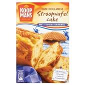 Koopmans Bakmix Stroopwafelcake voorkant
