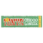 Tony's chocolonely Chocoladereep Melk Hazelnoot voorkant