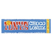 Tony's chocolonely Chocoladereep Puur voorkant