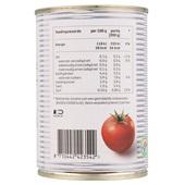 Spar Tomatenblokjes Knoflook achterkant