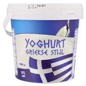 Koning Griekse Yoghurt 10% Vet voorkant