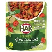 Hak groenteschotel Italiaans voorkant