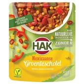 Hak groenteschotel Mexicaans voorkant