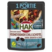 Hak portieverpakking kidneybonen chili voorkant