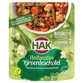 Hak groenteschotel Hollands voorkant