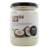 Raw Superfood Kokosolie voorkant