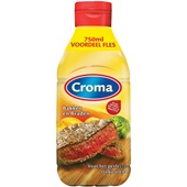 Croma margarine vloeibaar bakken en braden voorkant