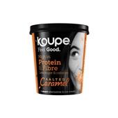 Koupe proteïne ijs salted caramel voorkant