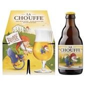 La Chouffe Bier achterkant
