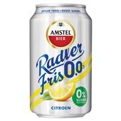 Amstel fris radler 0.0 achterkant