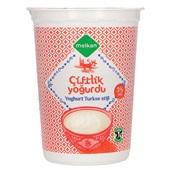 Melkan Turkse yoghurt naturel 3% voorkant