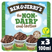 Ben&Jerry ijs non dairy collection voorkant