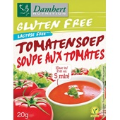 Damhert Glutenvrij Tomatensoep voorkant
