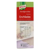 Knorr Wereldgerechten Mexicaanse Enchiladas achterkant