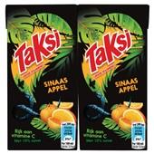Taksi Sinaasappelnectar 10 pack voorkant