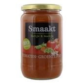 Smaakt Tomaten-Groentesoep voorkant