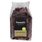 Smaakt Cranberries voorkant