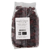 Bio Nature Cranberries achterkant