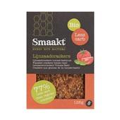 Smaakt Crackers Spelt & Lijnzaad voorkant
