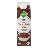 Melkan Vla Chocolade voorkant